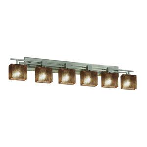 Fusion Brushed Nickel 56.5-Inch LED Bath Bar