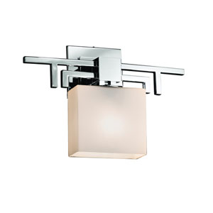 Fusion Polished Chrome 14-Inch LED Wall Sconce