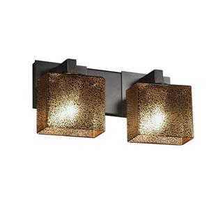 Fusion Dark Bronze 15-Inch LED Bath Bar