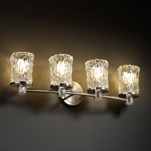 Veneto Luce Rondo Four-Light Bath Fixture