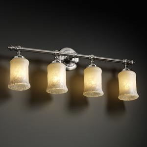 Veneto Luce Tradition Four-Light Bath Fixture