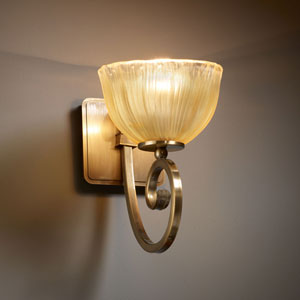Veneto Luce Victoria Brushed Nickel Wall Sconce