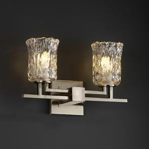 Veneto Luce Aero Two-Light Bath Fixture