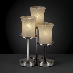 Veneto Luce Dakota Three-Light Table Lamp