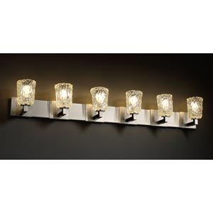 Veneto Luce Modular Six-Light Bath Fixture