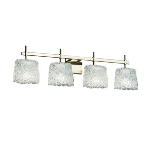 Veneto Luce Brushed Nickel 33.5-Inch LED Bath Bar