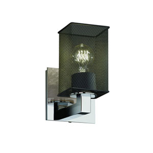 Wire Mesh™  Polished Chrome One-Light Sconce