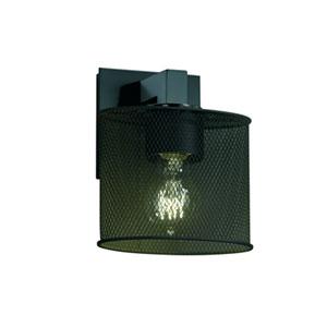 Wire Mesh™  Dark Bronze One-Light Sconce