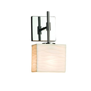 Porcelina  Polished Chrome 5.5-Inch LED Wall Sconce