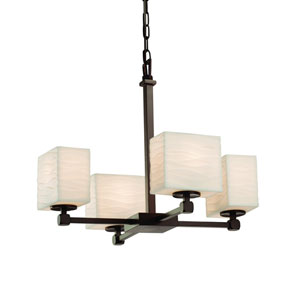 Porcelina Dark Bronze 20-Inch LED Chandelier
