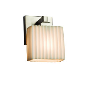 Porcelina Brushed Nickel 5.5-Inch LED Wall Sconce