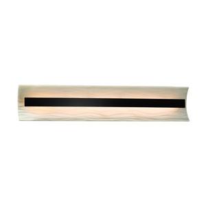 Porcelina  Matte Black 29-Inch LED Bath Bar