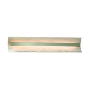 Porcelina Brushed Nickel 29-Inch LED Bath Bar