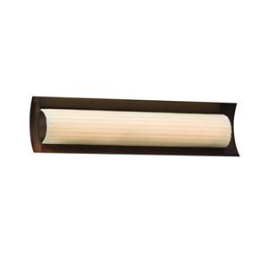 Porcelina  Dark Bronze 21.5-Inch LED Bath Bar