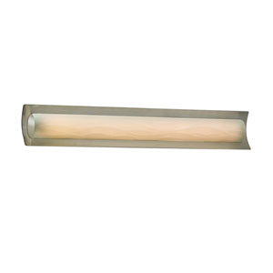 Porcelina Brushed Nickel 30-Inch LED Bath Bar