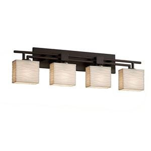 Porcelina  Dark Bronze 36-Inch LED Bath Bar