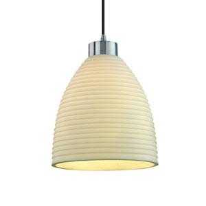 Porcelina™  Brushed Nickel One-Light Pendant