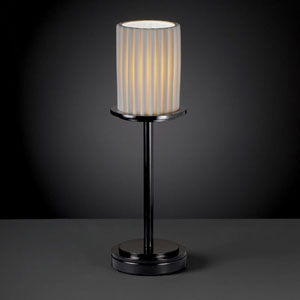 Limoges Dakota Matte Black Tall Table Lamp