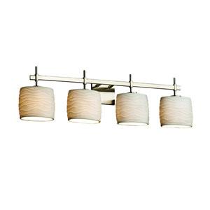 Limoges Collection™ Brushed Nickel 33.5-Inch LED Bath Bar