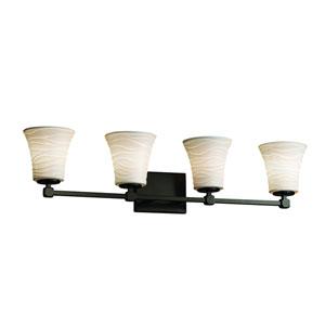 Limoges Collection™  Matte Black 32.5-Inch LED Bath Bar