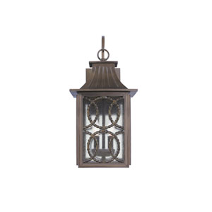 Monterey Outdoor Aged Bronze Two-Light Wall Sconce