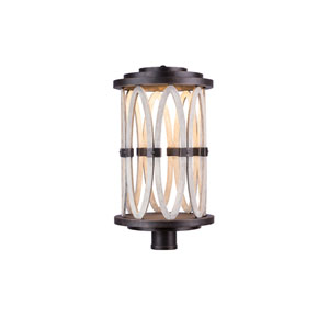 Belmont Outdoor Florence Gold One-Light Post Mount