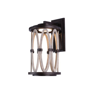 Belmont Outdoor Florence Gold 10-Inch One-Light Wall Sconce