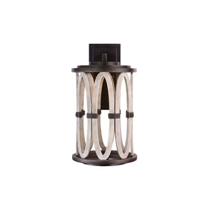 Belmont Outdoor Florence Gold 12- Inch One-Light Wall Sconce