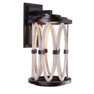 Belmont Outdoor Florence Gold 15-Inch One-Light Wall Sconce