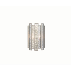 Palisade Tarnished Silver Two-Light ADA Wall Sconce