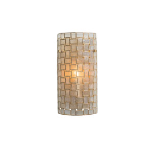 Roxy Gold Leaf One-Light Sconce