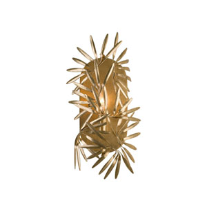 Jardin Gold Leaf One-Light Sconce