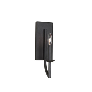 Newhall Black Iron One-Light Wall Sconce