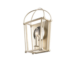 Sutter Warm Silver One-Light ADA Wall Sconce