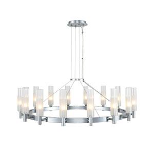 Lorne Chrome 16-Light LED Chandelier