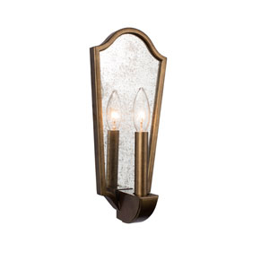 Aberdeen Pearlized Antique Brass One-Light ADA Wall Sconce