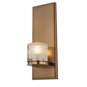 Library Library Brass LED ADA Wall Sconce