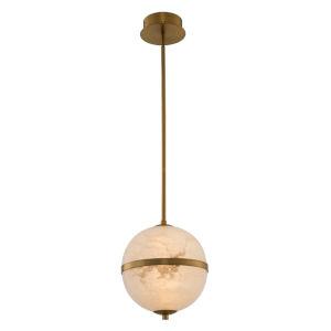 Canterbury Winter Brass 10-Inch LED Pendant