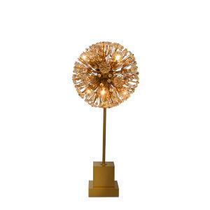 Dahlia Gold Six-Light Table Lamp