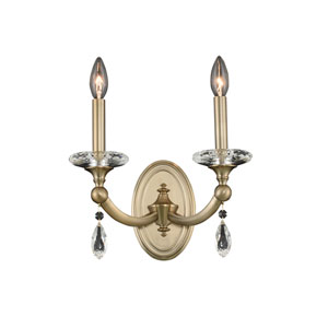 Floridia Gold Two-Light Sconce