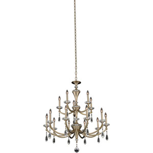 Floridia Gold 15-Light Chandelier