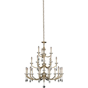 Floridia Gold 21-Light Chandelier