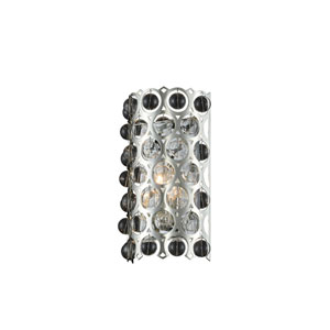 Vita Polished Silver One-Light ADA Wall Sconce