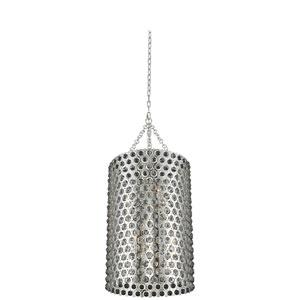 Vita Polished Silver 20-Inch Six-Light Pendant