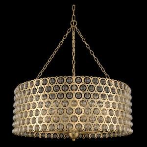 Vita Champagne Gold Eight-Light Pendant