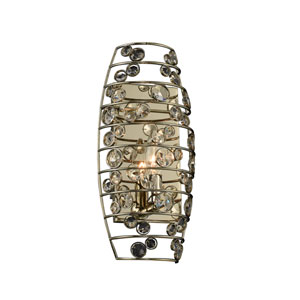 Gemini Champagne Gold One-Light Sconce
