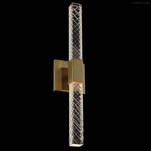 Apollo Champagne Gold Two-Light Sconce