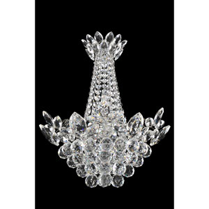 Treviso Chrome Two-Light Sconce with Firenze Clear Crystal