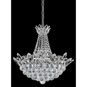 Treviso Chrome 11-Light Chandelier with Firenze Clear Crystal