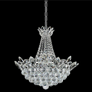 Treviso 18K Gold 11-Light Chandelier with Firenze Clear Crystal